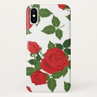 Beautiful Roses iPhone X Case