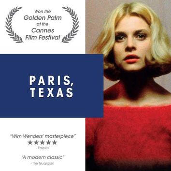 Paris, Texas (Danish) 27x40 Movie Poster (1984)