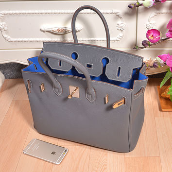 2016 25 30 35cm brand H lock panelled bag women cowhide handbags real genuine leather messenger shoulder bag ladies tote bags