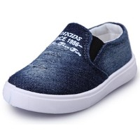 Denim Canvas Slip-on Shoes for Toddlers
