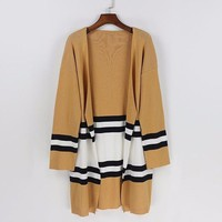 Knitted Sweater Striped