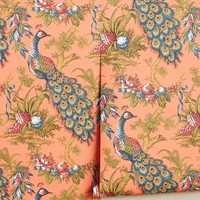 Peacock Toile Wallpaper by Anthropologie