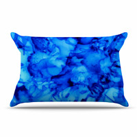 "Claire Day ""Blue"" Aqua Pillow Sham"