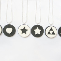 Oreo BFF/ Couple's Necklace/Charm