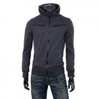 New Arrival Fashion and Cool Style Double-zipper Decorated Fleeces Jacket For Man China Wholesale - Everbuying.com