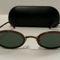 RAY BAN Vtg Sidestreet Combo Oval Sunglasses W2952