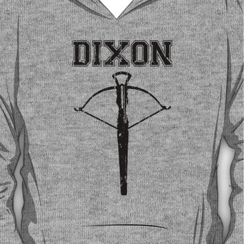 Daryl Dixon Crossbow (black) Hoodie (Pullover)