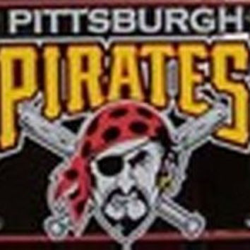 Pittsburgh Pirates MLB Baseball License Plate Plates Tags Tag auto vehicle car front