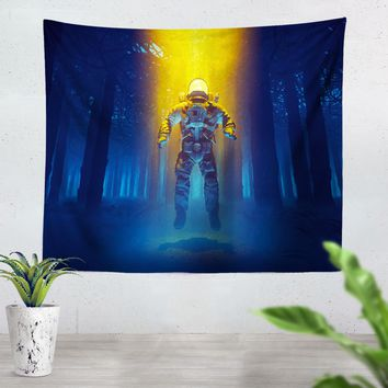Forest Flux Tapestry