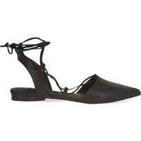 SENSO Gordon leather pointed flats