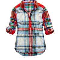 Aerie Flannel Sleep Shirt