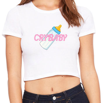 Cry Baby Baby Crop T-shirt
