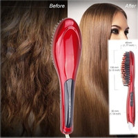 Paddle Brush Hair Straightener