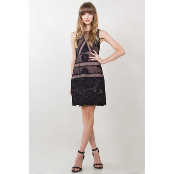 Skivvies Embroidered Dress LAVELIQ.