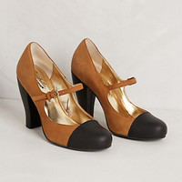 Colorblock Mary Jane Pumps