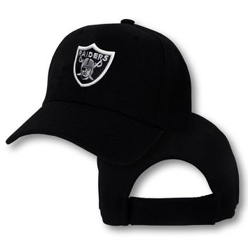 Oakland Raiders Cap Hat Embroidered Game Men Adjustable snapback Las Vegas Curved baseball cap men women
