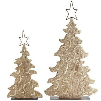 Carved Wood Trees$49.95 - $79.95
