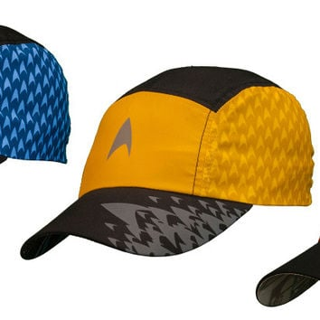 Brainstorm Gear Star Trek Featherweight Running Hat (one size fits most)