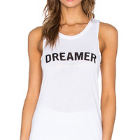 Dreamer Muscle Tank in White