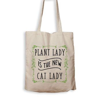 CREYMS2 Plant Lady Is The New Cat Lady - Tote Bag