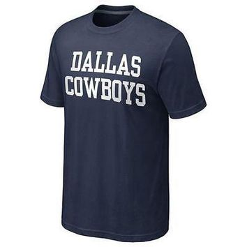 NWT- Dallas Cowboys Coaches T-Shirt- Men's Size 2XL/XL/Lg/Med/Sm - NFL Licensed