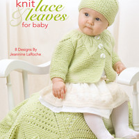 Leisure Arts-Knit Lace & Leaves For Baby