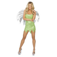 Roma Womens Green Sprite Halloween Party Dress Costume