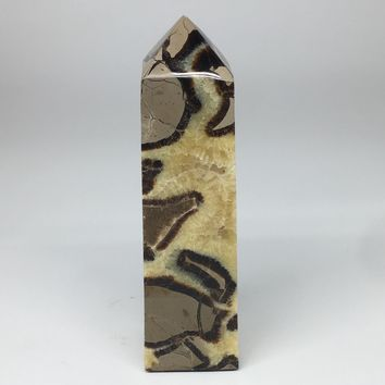 """1186g,7.75""""x2.2""""x2"""" Natural Septarian Tower Point Crystal @Madagascar,TP151"""