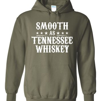 Smooth As Tennessee Whiskey - Pull Over, Hooded Sweatshirt