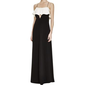 JILL Jill Stuart Womens Two Tone Full-Length Evening Dress