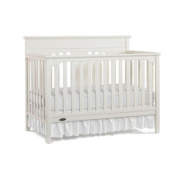 Graco Lauren Signature Convertible Crib - Classic White