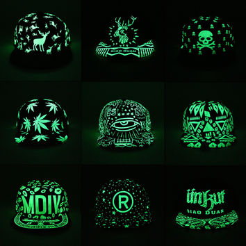 d6e7efd83e5 New Fashion Fluorescent Snapback Baseball Caps Hip Hop Cap For Women Men  Casual Unisex Caps Hats