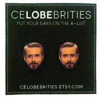 Ryan Gosling Hey Girl Earrings