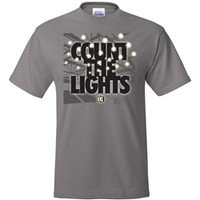 Count the Lights Wrestling T-Shirt