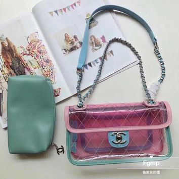 """""""CHANEL"""" new jelly bags"""