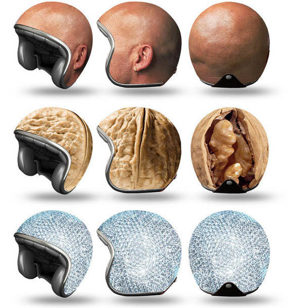 Head Candy: Helmet Experiments   Incredible Things