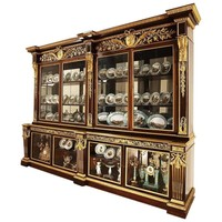 Exceptional Mahogany and Ormolu-Mounted Bibliotheque