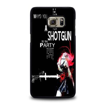 the pretty reckless quotes samsung galaxy s6 edge plus case cover  number 1