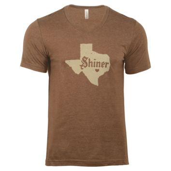 Shiner Heart of Texas V-neck