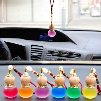 7 Colors Hanging Perfume Automotive Supplies Air Freshener Gourd Aromatherapy for Car Home Accessories