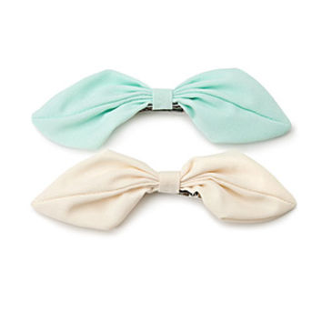 Oversized Bow Clip Set