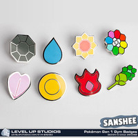 » Pokémon Gym Badges