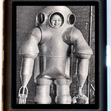 Weird Strange Odd Retro 1950's Robot Gal Space by sweetheartsinner