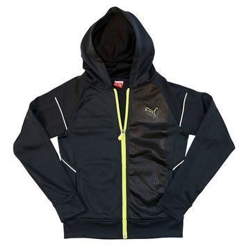 PUMA French-Terry Full-Zip Hoodie - Boys 8-20, Size: