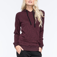 FULL TILT Essential Marled Womens Pullover Hoodie | Girl In Motion