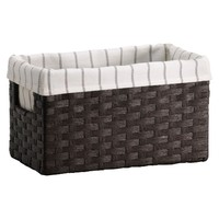 Threshold™ Paper Rope Small Basket - Dark Brown