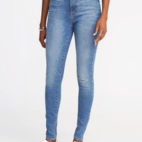 High-Rise Built-In Sculpt Rockstar Super Skinny Jeans for Women | Old Navy