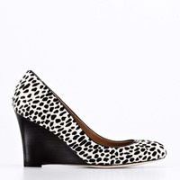 Kamela Wedge Haircalf Pumps