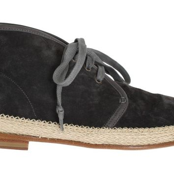 Gray Suede Corrida Chukka Ankle Boots