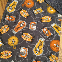Jack Skellington FABRIC Table RUNNeR 40X11  Nightmare Before Christmas BriGhT  BEAUTiFIL VersaTiLe Table DECoR or GiFT! Designs by Sugarbear